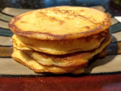 Low Carb Lemon Pancakes