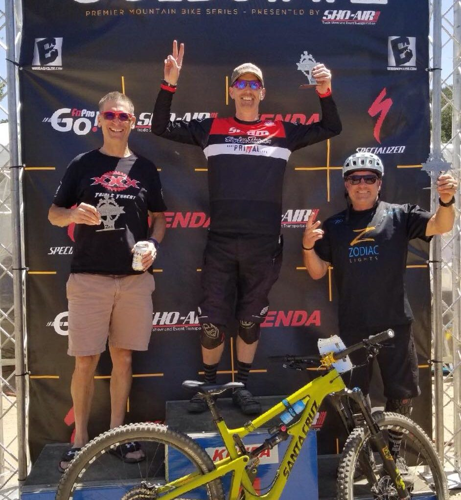Client Spot Light: Coaching G.K. Competitive Mountain Biker and Socal MTB Enduro Winner