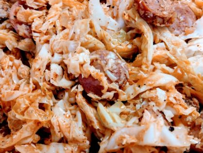 Cabbage with Sausage Recipe