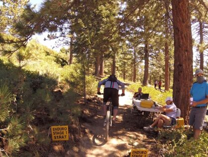 Big Bear Mountain Bike Enduro 2 2020 slow and steady.